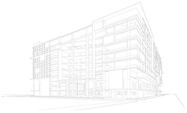 Commercial Building Rendering
