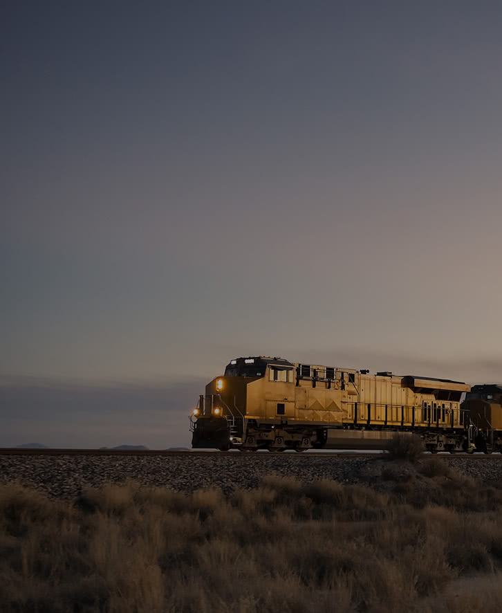 Train in the Evening